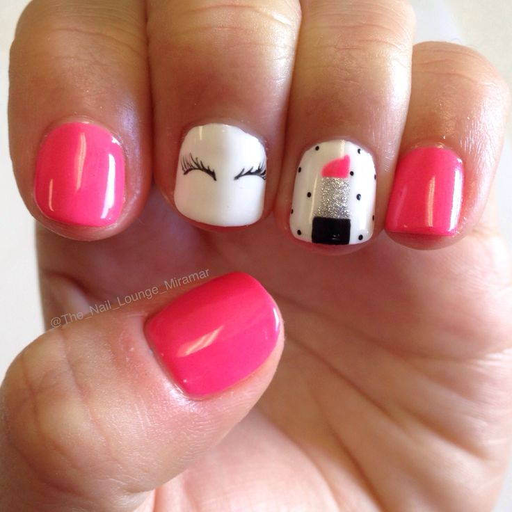 Adorable Nail Art: 25+ Best Ideas About Pink Gel Nails On Pinterest