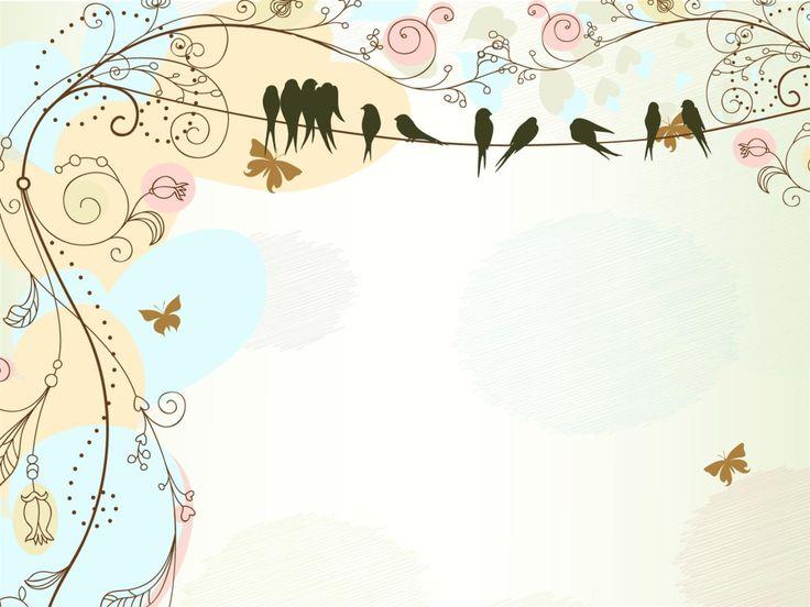 Birds Frame backgrounds