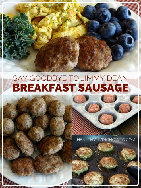 Who needs the convenience of prepackaged breakfast sausage full of unhealthy ingredients, when making your own is not only easy but by far h...