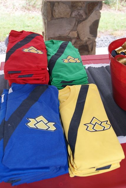 "Photo 7 of 31: Power Rangers / Birthday ""Power Ranger Training Camp"" 