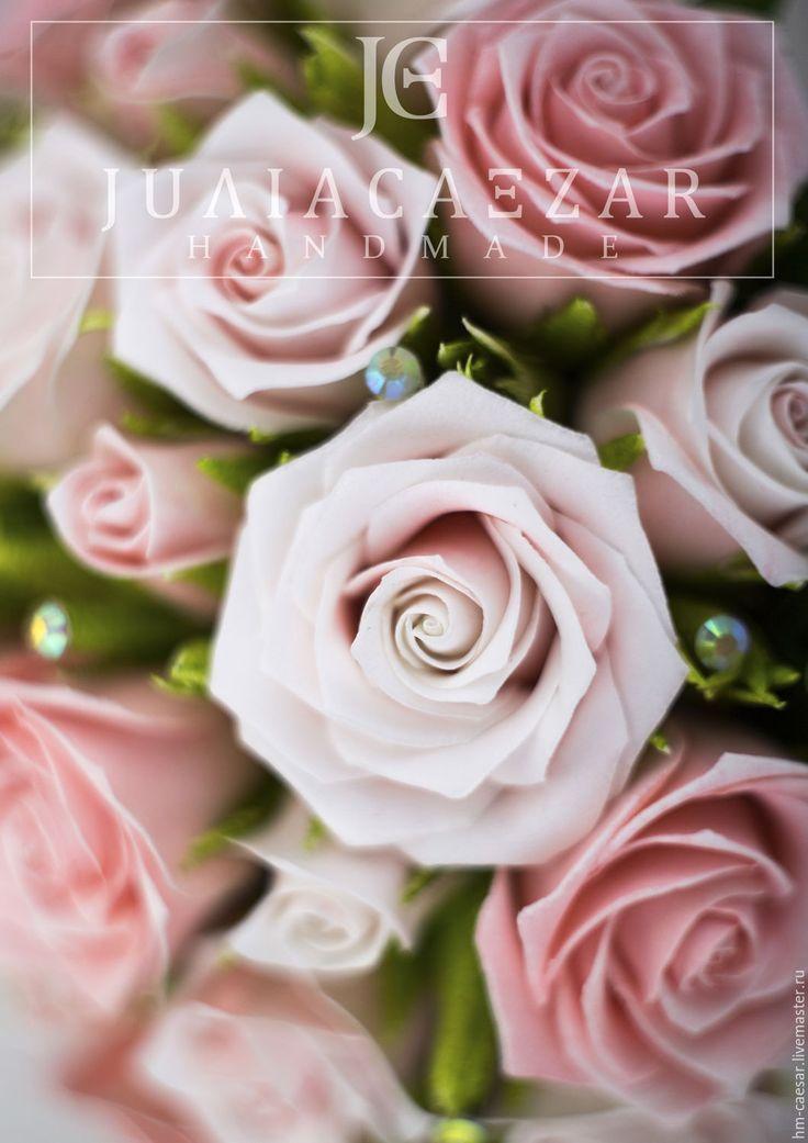 """Купить Мастер-класс """"Свадебный букет из фоамирана"""" - фоамиран иранский, свадьба, свадебные аксессуары"""