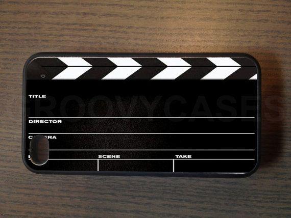 Clapper board phone case