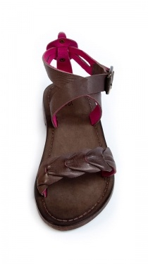 Leather Sandals by HOSS Intropia - these are great! $54.00