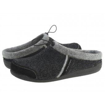 Papuci casa barbati S Oliver gri #homeshoes #cozy #Shoes