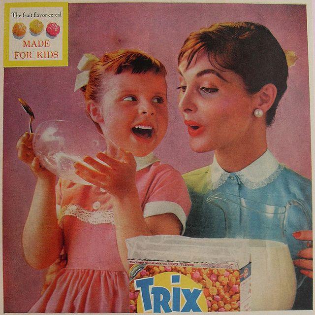 vintage trix cereal ad