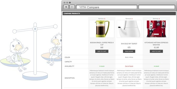 YITH Woocommerce Compare | Your Inspiration Themes #free #plugin #wordpress #themes