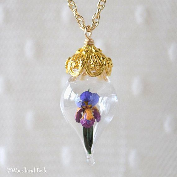 Pin On Glass Rose Flower Terrarium Necklaces
