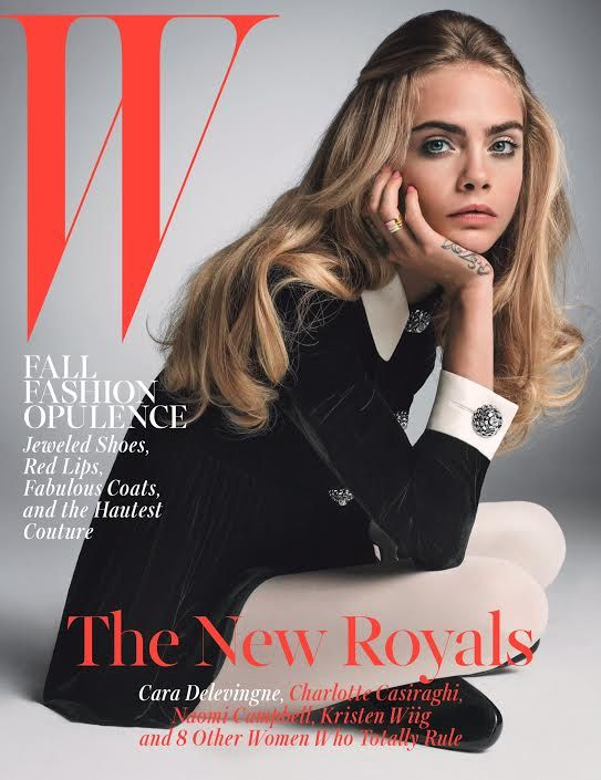 Cara Delevingne is one of W's 5 October 2014 cover stars. Meet the new royals…