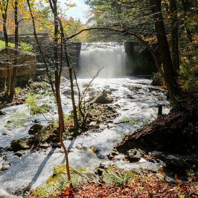 Rocky Glen Park Home: Pootatuck River Next To Rocky Glen State Park In Sandy
