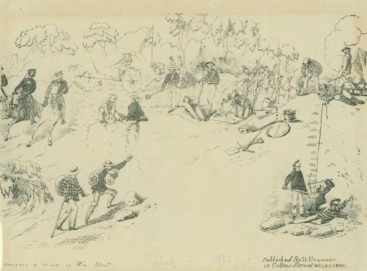 Mount Police Gold Escort 1852