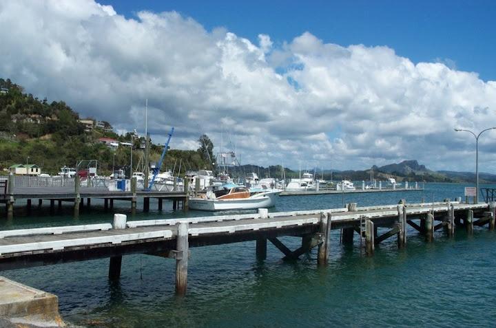 Whangaroa Harbour....wharves and Marina