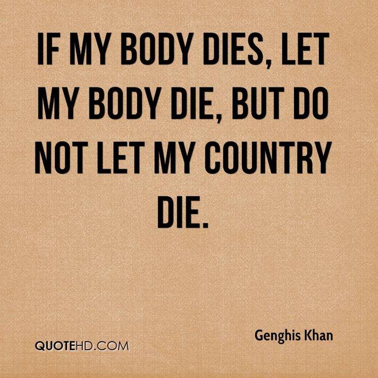<b>genghis khan quotes</b> <b>Quotes</b>