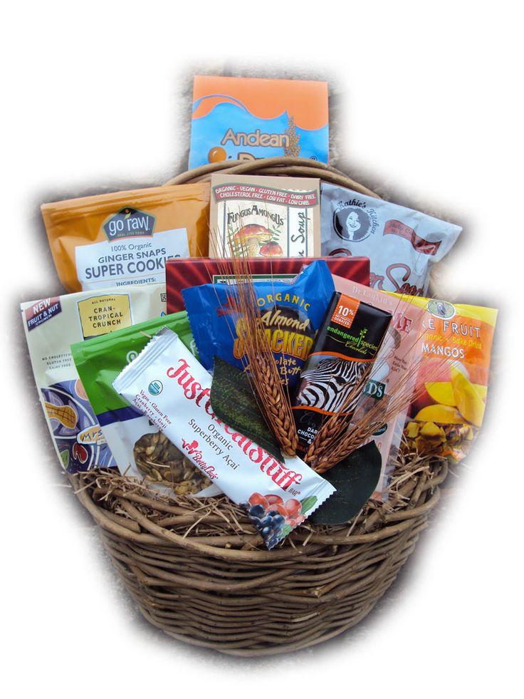 gourmet vegetarian gift baskets - 375×500