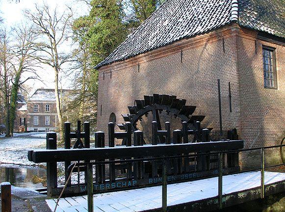 Vorden - kasteel Hackfort (watermolen)