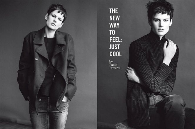 June 2013, The new way to feel: just cool. Photos by Paolo Roversi - click on the photo to see the complete story and backstage video