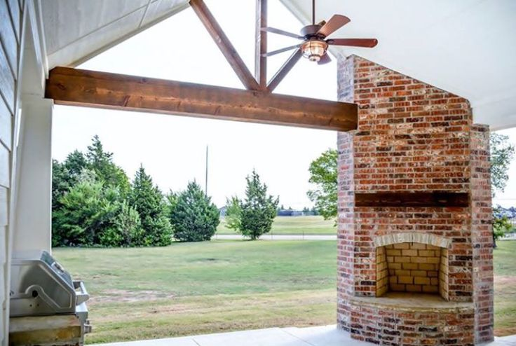 ideal back porch by richmond signature homes