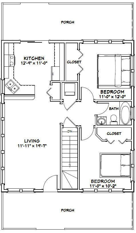 15 Must see Shed House Plans Pins Tiny house plans Guest house