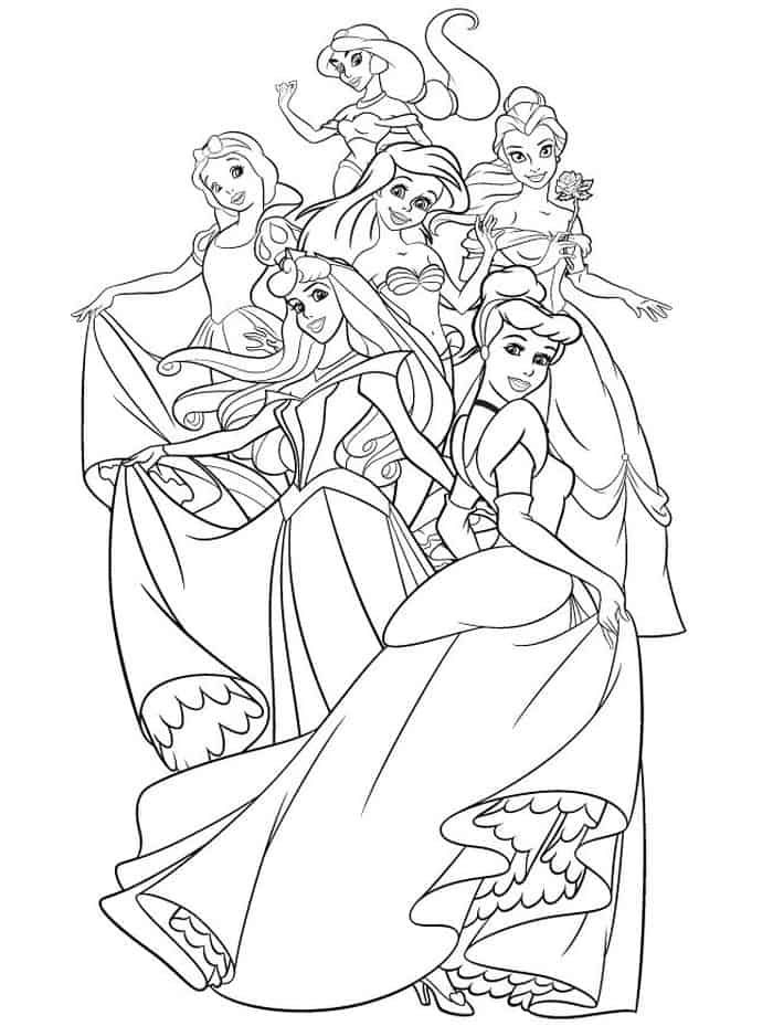 Disney Princess Coloring Pages Sleeping Beauty Disney Princess Coloring Pages Princess Coloring Pages Disney Coloring Pages