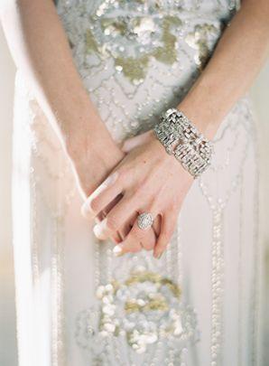 Alder Manor Vintage Wedding, Jenny Packham Wedding Dress, photo by Bryce Covey
