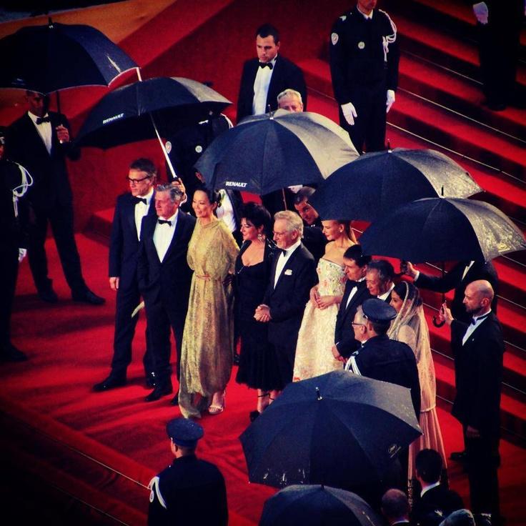 Le Jury du Festival sur le tapis rouge. #Cannes2013.