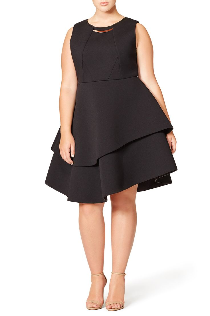 Rent Studio Bonded Dress by ELOQUII for $30 only at Rent the Runway.