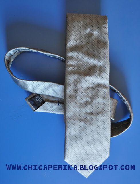 Chica Perika: Tutorial de Cómo hacer una corbata para niño a partir de la de un adulto | Recetas | Costura | Manualidades | Tutoriales
