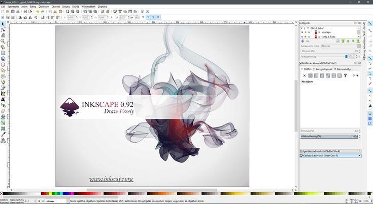 Az Inkscape egy ingyenes, nyílt forrású vektorgrafikus program. Ezt az oldalt az FSF.hu Alapítvány azoknak hozta létre, akik számítógépes rajzolással szeretnének foglalkozni.