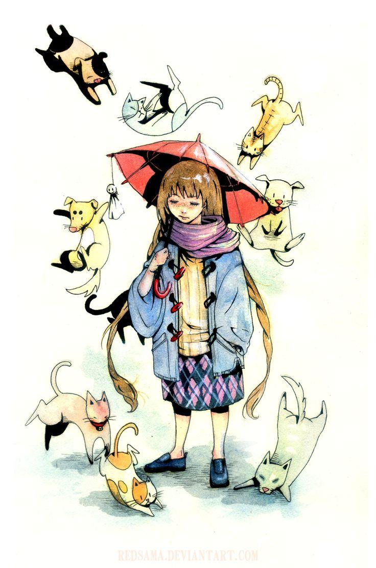 MI MALETA DE RECORTES: ¡¡Están lloviendo gatos y perros!!/It´s raining cats and dogs!!