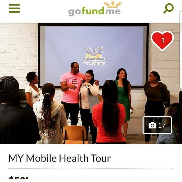 #Tag a friend and #Share our message and mission.  We are GROWING and need your help to continue to do so.  Please click the link to see what we are up to ☝️ and share our #GoFundMe page.  #gofundme #MyMobileHealth #tour #help #donate #today #mobile #mobilehealth #health #healthy #fit #fitness #wellness #men #women #growth #blessed #gratitude #smile #giveback #social #socialmedia #networking #fundraiser #betterliving #community by @mymobilehealth.  #logo #graphicdesign #brandidentity #brand…