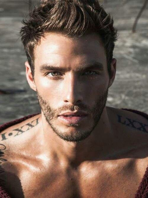 Very hot! Hot man.