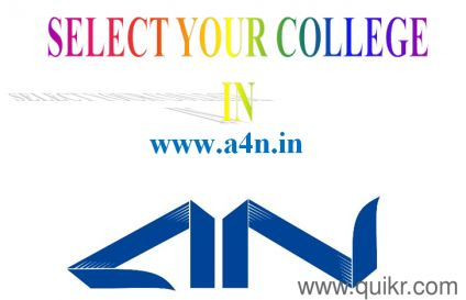 A4N- Holistic approach with detailed analysis of Industry Demand Vs Courses Vs Colleges analysed across performance in placements, Industry connect, faculty Quality, Infrastructure and Conducive environment for learning. Visit: http://a4n.in