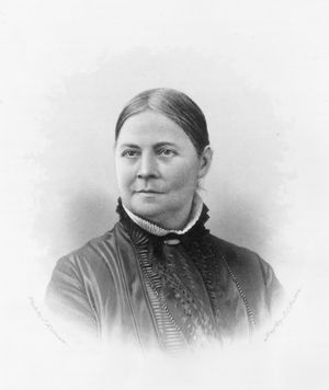 Learn about Lucy Stone: Abolitionist and Women's Rights Reformer: Lucy Stone, about 1865