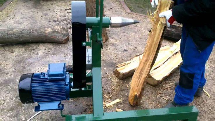 3 fázisú kugli és méterfa hasító gép