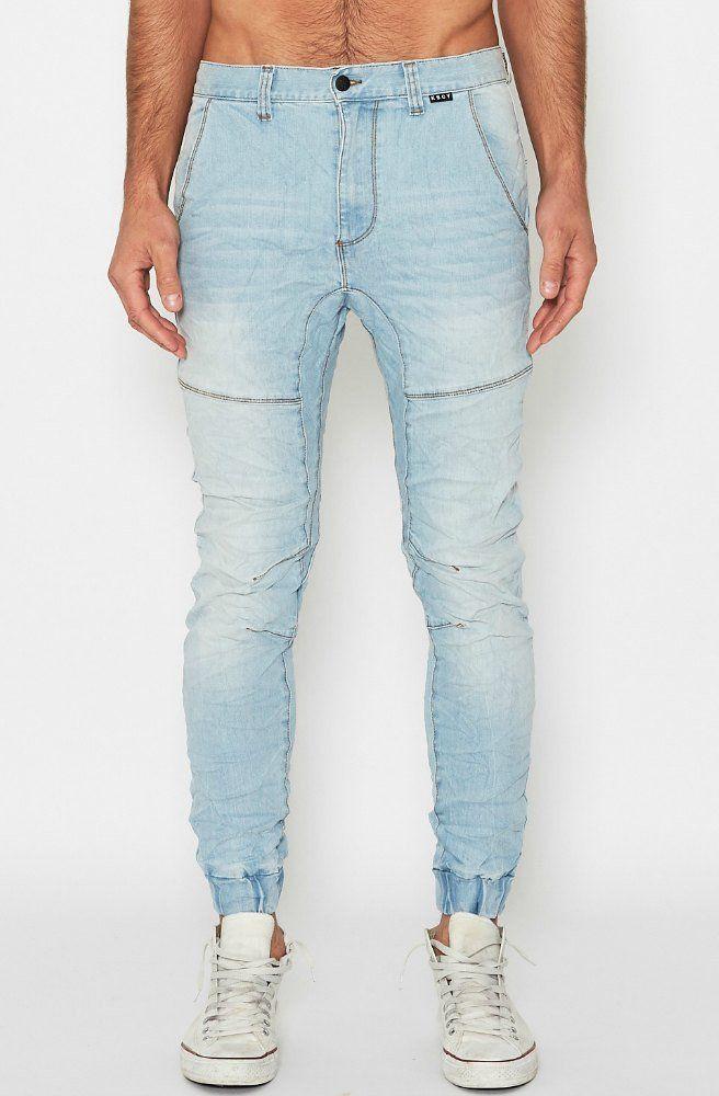 Messiah Denim Jeans - Ombre Blue - KSCY   Picpoket