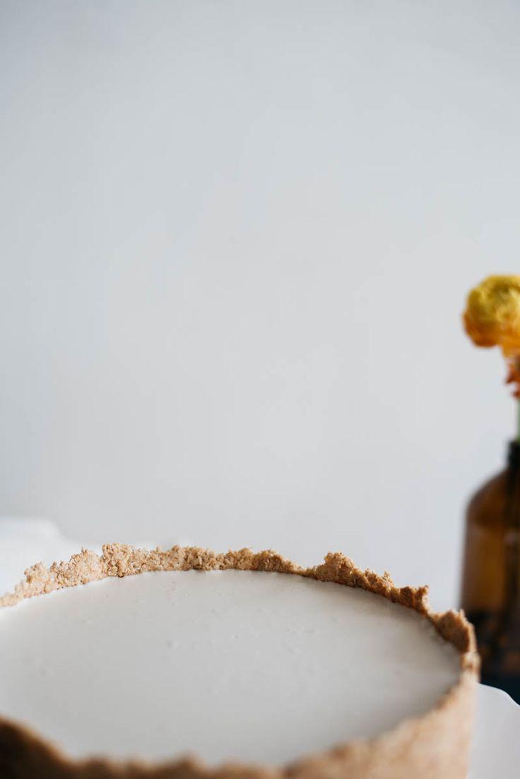 Vegan coconut pastry tart