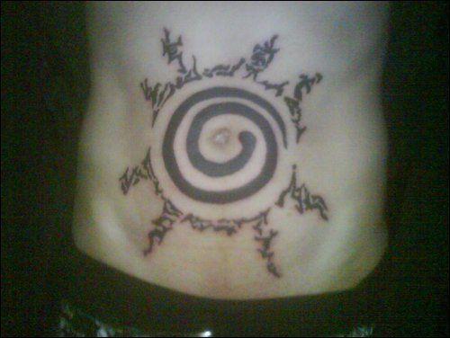 Naruto seal tattoo