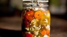 Homemade Hot Giardiniera Recipe : Jeff Mauro : Food Network