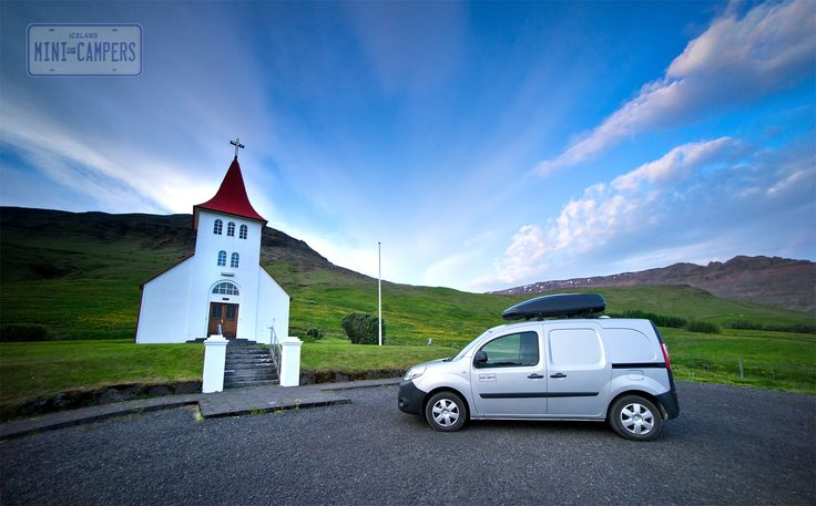 Iceland Mini Campers is always a good idea to travel in Iceland. Renault Kangoo is fully furnished for long trip. You can sleep and cook in the campervan. Three seats daytime setting allows you to seat in the camper during rainy and windy days.  #camper, #camperrental, #icelandcarrental,