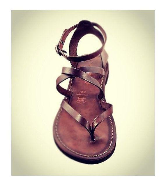 SALE 5 dollar off / Leather Sandals Womens van SandaliShop op Etsy