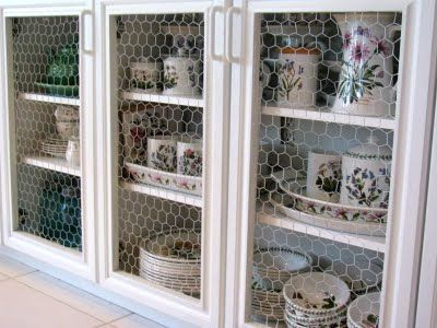 Best 25+ Chicken wire cabinets ideas on Pinterest | Farmhouse ...