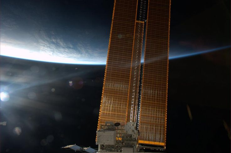 Twitter / Cmdr_Hadfield: Today's photo is sunrise, the ...