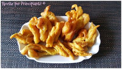 Ricette per Principianti: Fiori di zucca fritti in Pastella Integrale Veg