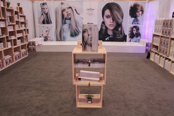The calm before the #COLOR2013 storm at the #Davines booth from Nashville.
