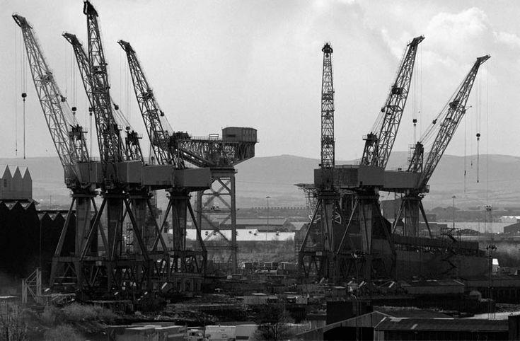 glasgow shipyard cranes