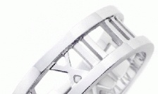 Sterling Silver Plated Tiffany & Co. Inspired Roman Numeral Jewellery Starting at Just $7  ($ 160 Value)