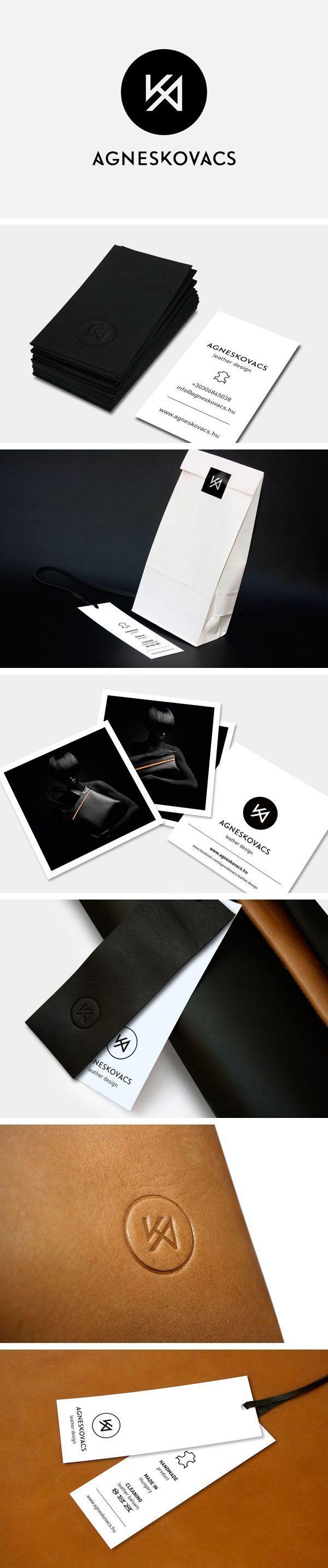 AgnesKovacs #Logo #Corporate #Identity #Stationery #Graphic #Design