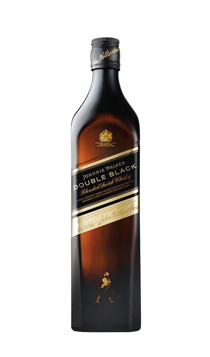 Johnnie Walker Double Black is inspired by the iconic flavours of Johnnie Walker Black Label and turns them up to create a blend of unprecedented intensity. Strongly influenced by powerful West Coast and Island whiskies, Johnnie Walker Double Black is best enjoyed with water to unlock its complex layers of smouldering spice and smoke. An impressive blend to share, whatever the occasion.