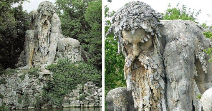 Il Colosso dell'Appennino, la statua che nasconde un segreto al suo interno