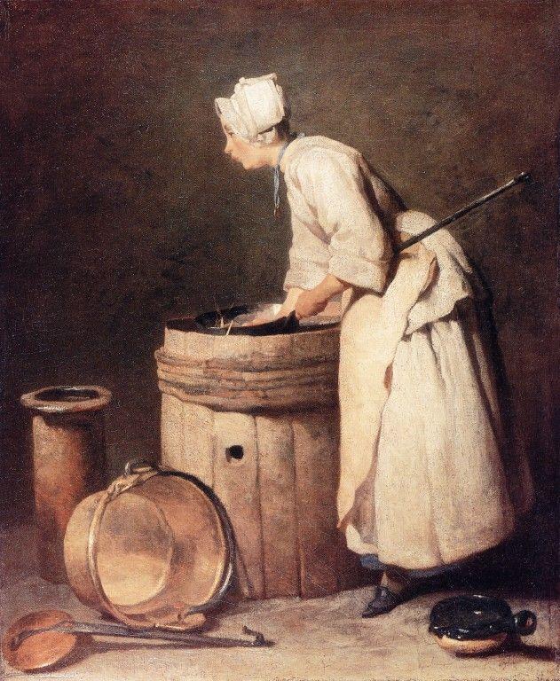 Scullary Maid - Chardin