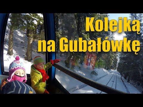 Zakopane zimą - z dziećmi kolejką na Gubałówkę - YouTube